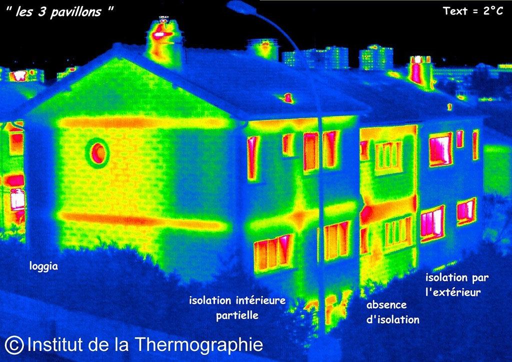 étude thermographique dans l'hérault, éco-logis autonome