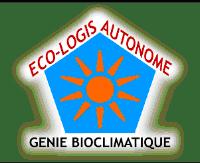 ancien logo éco-logis autonome, génie bioclimatique dans l'Hérault